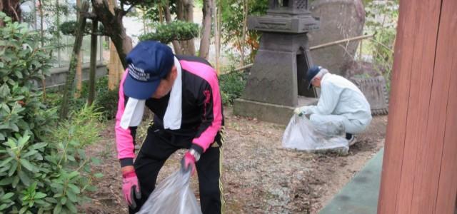 令和元年10月12日(土) 家族会の方々による、清掃が行われ […]
